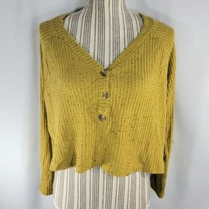 American Eagle Soft & Sexy Cropped Sweater Medium